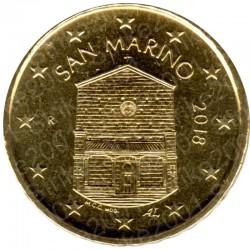 San Marino 2018 - 10 Cent. FDC