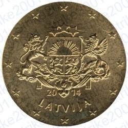 Lettonia 2014 - 50 Cent. FDC