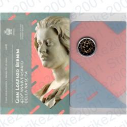 San Marino - 2€ Comm. 2018 FDC Bernini in Folder