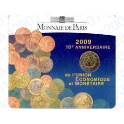 Francia - 2€ Comm. 2009 FDC EMU in Folder