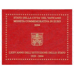 Vaticano - 2€ Comm. 2004 FDC 75° Anniversario Stato Vaticano
