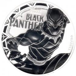 Tuvalu Polinesia - 1 Oncia Argento 2018 FDC Marvel Black Panther