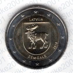 Lettonia - 2€ Comm. 2018 FDC Zemgale Semgallia