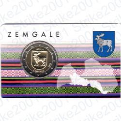 Lettonia - 2€ Comm. 2018 FDC Zemgale Folder
