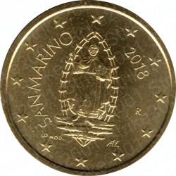 San Marino 2018 - 50 Cent. FDC
