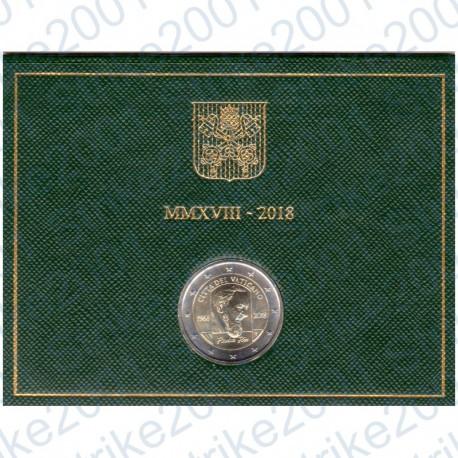 Vaticano - 2€ Comm. 2018 FDC Padre Pio in Folder