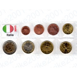 Italia - Blister 2003 FDC