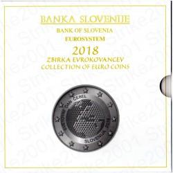 Slovenia - Divisionale Ufficiale 2018 FDC