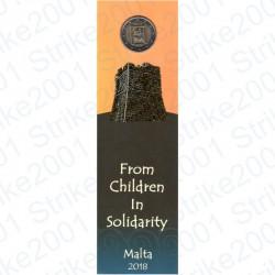 Malta - 2€ Comm. 2018 Patrimonio Culturale Cornucopia in Folder