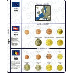 Kit Foglio 19 paesi 2018