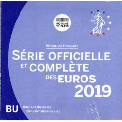 Francia - Divisionale Ufficiale 2019 FDC