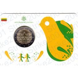 Lituania - 2€ Comm. 2018 FDC Festival Danza e Canzone in Folder II