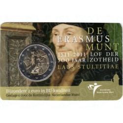 Olanda - 2€ Comm. 2011 FDC Erasmus in Folder