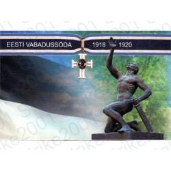 Estonia - 2€ Comm. 2018 FDC Forze della Difesa in Folder