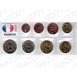 Francia - Blister 2019 FDC