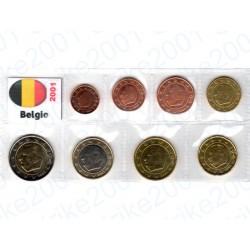 Belgio - Blister 2001 FDC