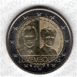 Lussemburgo - 2€ Comm. 2019 FDC Granduchessa Carlotta