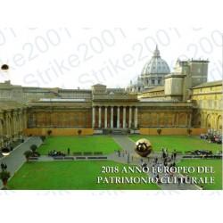 Vaticano - 2€ Comm. 2018 Patrimonio Culturale in busta Filatelica