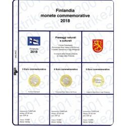 Kit Foglio 5 Euro Comm. Bimetallico Finlandia 2018