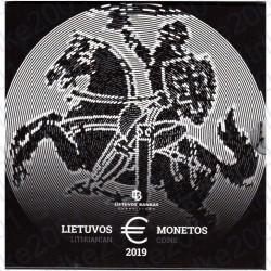Lituania - Divisionale Ufficiale 2019 FDC
