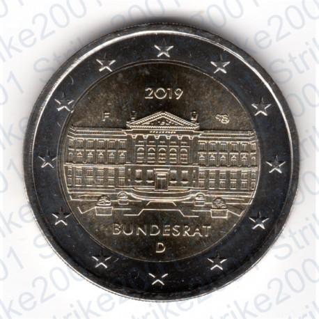 Germania - 2€ Comm. 2019 FDC Bundesrat