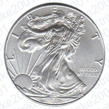 America - 1 Dollaro Argento Liberty Oncia 2019 FDC