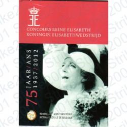 Belgio - 2€ Comm. 2012 FDC Regina Elisabetta in Folder