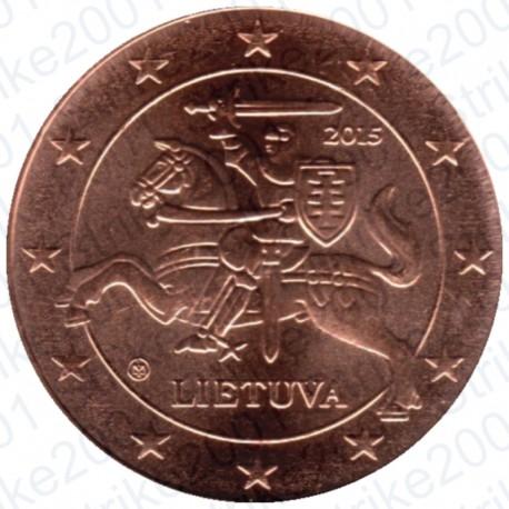 Lituania 2015 - 2 Cent. FDC