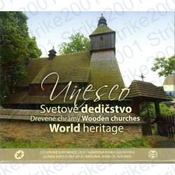 Slovacchia - Serie UNESCO 2018 FDC