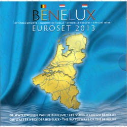Belgio - Serie BENELUX 2013 FDC