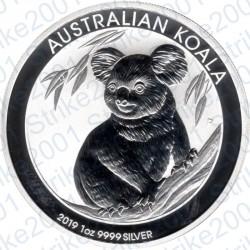 Australia - 1 Oncia Argento 2019 FDC Koala