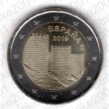 Spagna - 2€ Comm. 2019 FDC Muraglia di Ávila