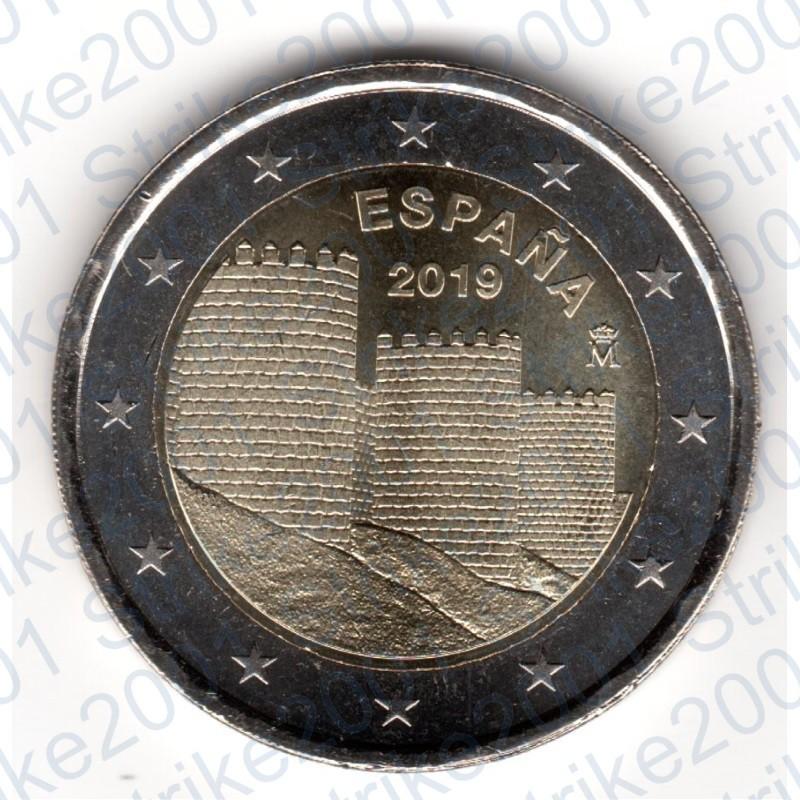 d39b5013f6 Spagna - 2€ Comm. 2019 FDC Muraglia di Ávila. Riferimento CMSPA19FD2EURAVI.  Condizione: Nuovo prodotto. Tipo: 2 Euro commemorativo ...