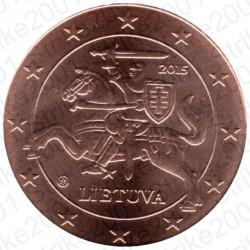 Lituania 2015 - 5 Cent. FDC