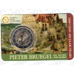 Belgio - 2€ Comm. 2019 FDC Pieter Bruegel (Olanda) in Folder