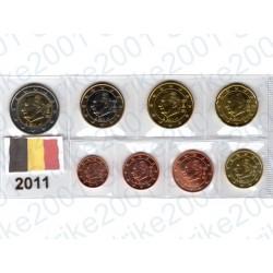 Belgio - Blister 2011 FDC