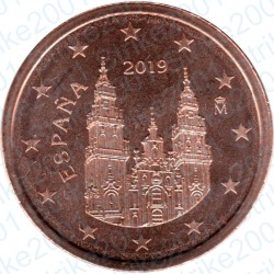 Spagna 2019 - 2 Cent. FDC
