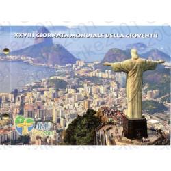 Vaticano - 2€ Comm. 2013 Giornata Gioventù Rio in busta Filatelica