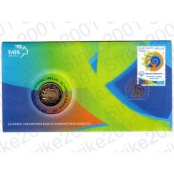 Grecia - 2€ Comm. 2011 FDC in Folder