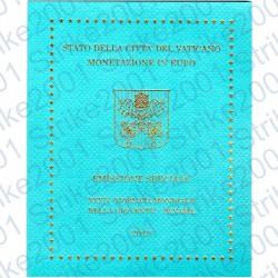 Vaticano - Divisionale Ufficiale 2019 FDC con 5 Euro Bimetallico