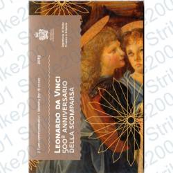 San Marino - 2€ Comm. 2019 FDC Leonardo Da Vinci in Folder