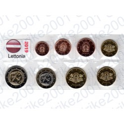 Lettonia - Blister 2019 FDC