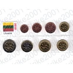 Lituania - Blister 2019 FDC