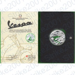 Italia - 5€ 2019 FDC Vespa Verde