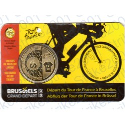 Belgio - 2,5€ 2019 FDC Tour de France in Folder (Francia)