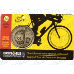 Belgio - 2,5€ 2019 FDC Tour de France in Folder (Olanda)