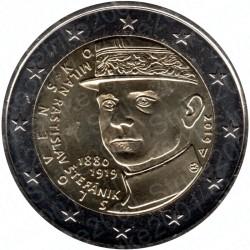 Slovacchia - 2€ Comm. 2019 FDC Milan Rastislav Štefánik