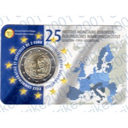 Belgio - 2€ Comm. 2019 FDC Istituto Monetario Europeo (Francia) in Folder