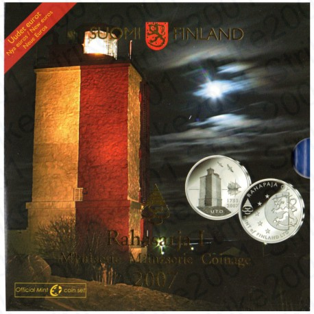 Finlandia - Divisionale Ufficiale 2007 FDC