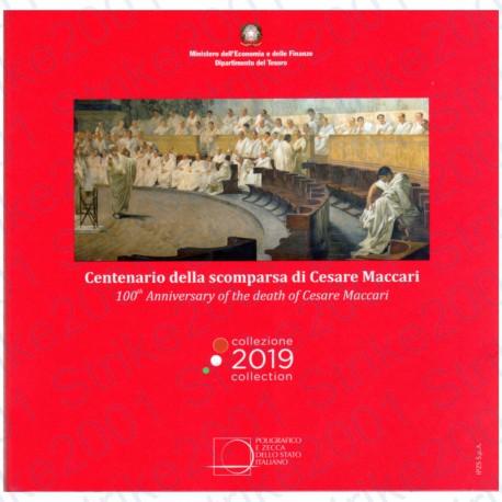 Italia - Divisionale Ufficiale 2019 FDC 9 Valori